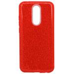 Чехол Yotrix BrightCase для Xiaomi Redmi 8 (красный, гелевый)