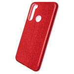 Чехол Yotrix BrightCase для Xiaomi Redmi Note 8 (красный, гелевый)