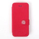 Чехол Discovery Buy Cloud Series Case для Apple iPhone 5C (розовый, кожанный)