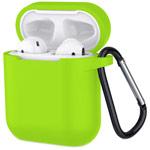 Чехол Yotrix Buckle Case для Apple AirPods (зеленый, силиконовый)