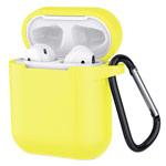 Чехол Yotrix Buckle Case для Apple AirPods (лимонный, силиконовый)
