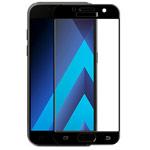 Защитная пленка Yotrix 3D SE Glass Protector для Samsung Galaxy A3 2017 (стеклянная, черная)