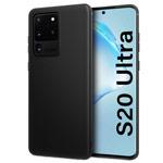 Чехол Yotrix UltrathinCase для Samsung Galaxy S20 ultra (черный, гелевый)