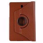 Чехол Yotrix FlipCase Rotation для Samsung Galaxy Tab S4 10.5 (коричневый, кожаный)