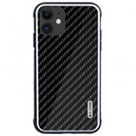 Чехол G-Case Carbon Fiber Shield Series для Apple iPhone 11 (черный, карбоновый)