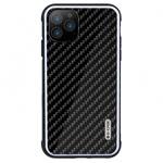 Чехол G-Case Carbon Fiber Shield Series для Apple iPhone 11 pro (черный, карбоновый)