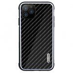 Чехол G-Case Carbon Fiber Shield Series для Apple iPhone 11 pro max (черный, карбоновый)