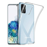 Чехол G-Case Cool Series для Samsung Galaxy S20 plus (прозрачный, гелевый)