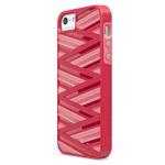 Чехол X-doria Rapt Case для Apple iPhone 5/5S (красный, пластиковый)