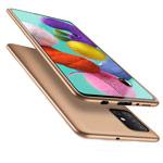 Чехол X-Level Guardian Case для Samsung Galaxy A71 (золотистый, гелевый)