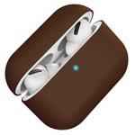 Чехол Synapse Protection Case для Apple AirPods pro (темно-коричневый, силиконовый)