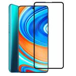 Защитное стекло Yotrix 3D Pro Glass Protector для Xiaomi Redmi Note 9 pro (черное)