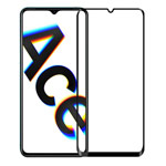 Защитное стекло Yotrix 3D Pro Glass Protector для Oppo Reno Ace (черное)