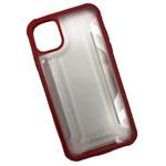 Чехол Coblue Composite Case для Apple iPhone 11 (красный, гелевый)