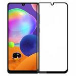Защитное стекло Yotrix 3D Pro Glass Protector для Samsung Galaxy A31 (черное)