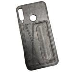 Чехол Yotrix SnapCase Holder для Huawei P40 lite E (черный, экокожа)