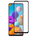 Защитное стекло Yotrix 3D Pro Glass Protector для Samsung Galaxy A21s (черное)