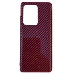 Чехол Yotrix Carbon Acrylic для Samsung Galaxy S20 ultra (красный, композитный)