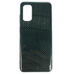 Чехол Yotrix Carbon Acrylic для Samsung Galaxy S20 (темно-зеленый, композитный)