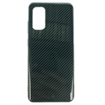 Чехол Yotrix Carbon Acrylic для Samsung Galaxy S20 plus (темно-зеленый, композитный)