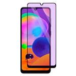 Защитное стекло Yotrix 3D Anti-Glare Glass Protector для Samsung Galaxy A31 (черное, антиблик)