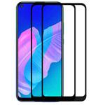 Защитное стекло Yotrix 3D Pro Glass Protector для Huawei Y7p (черное)
