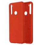 Чехол Yotrix LiquidSilicone для Xiaomi Redmi Note 8T (красный, гелевый)