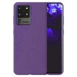 Чехол Yotrix LiquidSilicone для Samsung Galaxy S20 ultra (фиолетовый, гелевый)