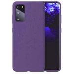 Чехол Yotrix LiquidSilicone для Samsung Galaxy S20 (фиолетовый, гелевый)