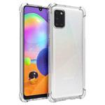Чехол Yotrix Shockproof TPU для Samsung Galaxy A31 (прозрачный, гелевый)