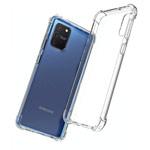 Чехол Yotrix Shockproof TPU для Samsung Galaxy S10 lite (прозрачный, гелевый)