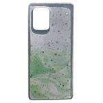 Чехол Yotrix GlitterFoil Case для Samsung Galaxy S10 lite (зеленый, гелевый)