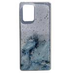 Чехол Yotrix GlitterFoil Case для Samsung Galaxy S10 lite (голубой, гелевый)