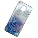 Чехол Yotrix GlitterFoil Case для Xiaomi Redmi Note 9S (розовый, гелевый)