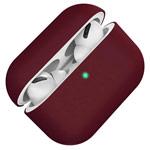 Чехол Synapse Protection Case для Apple AirPods pro (бордовый, силиконовый)