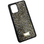Чехол Swarovski Crystal Case для Samsung Galaxy S20 (золотистый, гелевый)