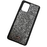 Чехол Swarovski Crystal Case для Samsung Galaxy S20 (серебристый, гелевый)