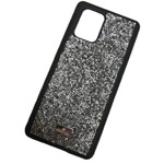 Чехол Swarovski Crystal Case для Samsung Galaxy S20 plus (серебристый, гелевый)