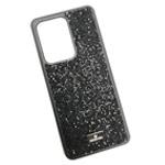 Чехол Swarovski Crystal Case для Samsung Galaxy S20 ultra (черный, гелевый)