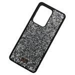 Чехол Swarovski Crystal Case для Samsung Galaxy S20 ultra (серебристый, гелевый)