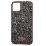 Чехол Swarovski Crystal Case для Apple iPhone 11 (золотистый, гелевый)