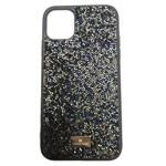 Чехол Swarovski Crystal Case для Apple iPhone 11 (темно-синий, гелевый)