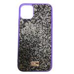 Чехол Swarovski Crystal Case для Apple iPhone 11 (фиолетовый, гелевый)