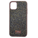 Чехол Swarovski Crystal Case для Apple iPhone 11 pro (золотистый, гелевый)