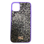 Чехол Swarovski Crystal Case для Apple iPhone 11 pro (фиолетовый, гелевый)