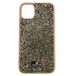 Чехол Swarovski Crystal Case для Apple iPhone 11 pro (коричневый, гелевый)