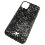 Чехол Swarovski Crystal Case для Apple iPhone 11 pro max (черный, гелевый)