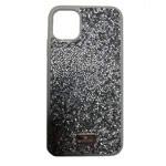 Чехол Swarovski Crystal Case для Apple iPhone 11 pro max (серебристый, гелевый)