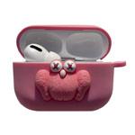 Чехол Synapse Сartoons Case для Apple AirPods pro (KAWS Pink, силиконовый)