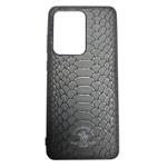 Чехол Santa Barbara Knight для Samsung Galaxy S20 ultra (черный, кожаный)
